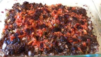أكلة شامية سهلة التحضير - صينية لحمة