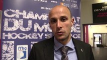 Interviews de Matthieu Barbez et Matthieu Loos, les deux Juges de ligne français au Mondial U18 de Nice