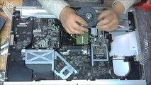 iMac 2009 27 pouces remontage ventilateur droit