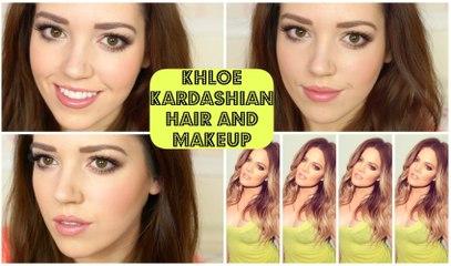Khloe Kardashian Hair & Makeup Tutorial   velvetgh0st ♡