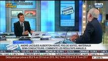 Soitec: retour sur les résultats annuels: André-Jacques Auberton-Hervé, dans Intégrale Bourse – 23/04