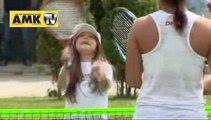 Çocuklar için 'Tenis Şenliği' düzenlendi