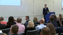Nick Clegg challenged by wife Miriam over men's 'cojones'