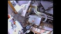 Sortie dans l'espace pour deux astronautes de l'ISS pour réparer un ordinateur