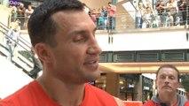 Klitschko has nothing to hide