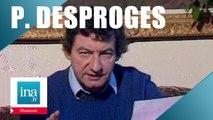 Pierre Desproges écrit à Dieu - Archive INA