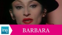 "Barbara ""Monsieur Capone"" (live officiel) - Archive INA"