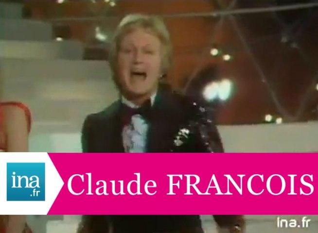 """Claude François """"Je vais à Rio"""" (live officiel) - Archive INA"""