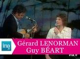 """Guy Béart et Gérard Lenorman """"La ballade des gens heureux"""" (live) - Archive INA"""