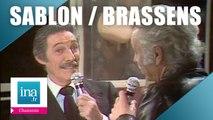 """Jean Sablon et Georges Brassens """"Ce petit chemin"""" (live officiel)   Archive INA"""