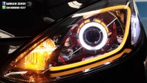 Mazda 2 xenon projector headlights luxury led daylight