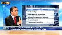 """Guerre taxis-VTC: le député Thévenoud dénonce Über, """"des taxis clandestins"""" - 24/04"""
