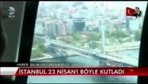 KANAL D- BAĞCILAR BELEDİYESİ 23 NİSAN'DA 23 ÇOCUĞA HELİKOPTERLE İSTANBUL TURU YAPTIRDI 23.04.2014