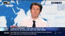 L'Édito éco de Guillaume Paul: Plan d'économies: Valls devra-t-il céderface aux députés frondeurs ? - 22/04