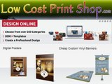 Cheap Custom Banners By Low Cost Print Shop
