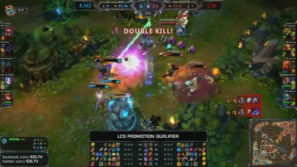 CW Forgiven PENTAKill - Spring 2014 LCS promotion tournament