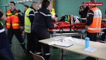 Lorient. Plan Orsec : exercice à la base de Lann-Bihoué