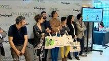 Vega participa en una campaña solidaria con El Corte Inglés