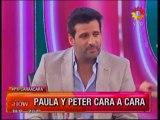 Pedro Alfonso y Paula Chaves cara a cara