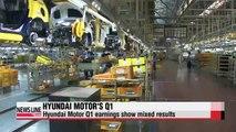 Hyundai Motor's Q1 earnings released