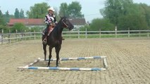 Petite démo d'équitation western à Wandignies