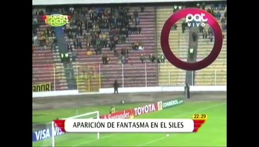 Une apparition mystérieuse lors d'un match de foot