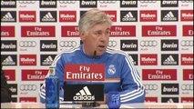 Carlo Ancelotti anuncia la titularidad de Cristiano Ronaldo