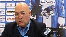 Hockey sur glace : Luciano Basile s'exprime sur son départ de Briançon et ses objectifs avec les Rapaces de Gap