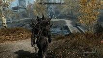 Elder Scrolls V  Skyrim PC Level 60 Mod hard (Fight Bandits)