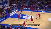 Playoffs Magic Moments: Huge Dunk by Sasha Kaun, CSKA Moscow