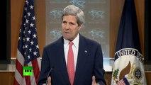 John Kerry attacks RT during Ukraine address