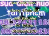 Thợ chuyên chống thấm nhà vệ sinh Q4 HCM///0912655679