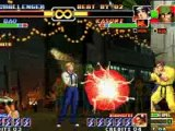 kof player combo movie king of fighters