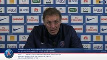 Replay Conférence de presse avant Sochaux PSG