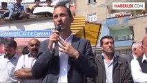 Şırnak'ta Tabutlu Termik Santral Protestosu
