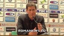 Garcia in conferenza stampa dopo Roma-Milan (26/04/14)