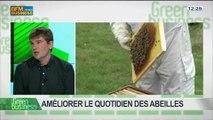 Améliorer le quotidien des abeilles: Antoine Poupart, Dominique Tristant et Patricia Laurent, dans Green Business – 27/04 3/4