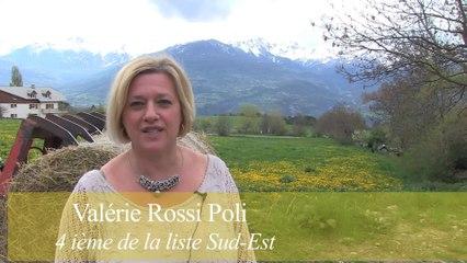 Elections Européennes - Valérie Rossi Poli