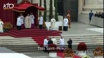 Rite de canonisation des Papes Jean XXIII et Jean-Paul II