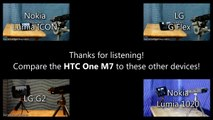 Smartphone Speaker Test  HTC One M7 Movie & Music Playback Samples (AT&T - Revised for 2014)
