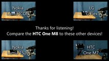 Smartphone Speaker Test  HTC One M8 Movie & Music Playback Samples (AT&T)