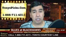 Game 6 NHL Pick Chicago Blackhawks vs. St Louis Blues Odds Playoff Prediction Preview 4-27-2014