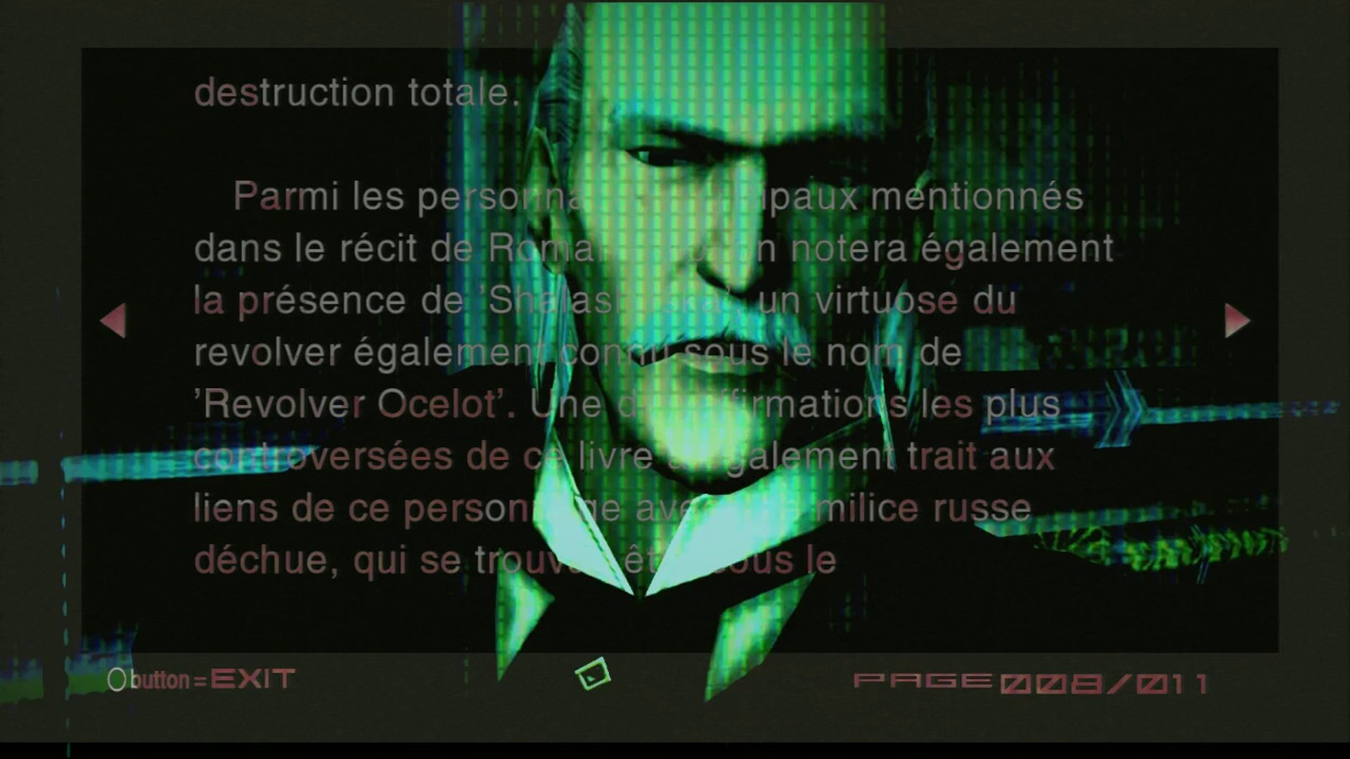 [Préface] Metal Gear Solid 2 : Sons of Liberty - The New York Mirror