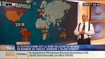 Harold à la carte: La répartition démographique des catholiques à travers le monde - 27/04