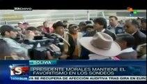 Encuestas dan ventaja de 24 puntos a Evo Morales sobre contendientes