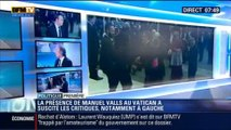 Canonisation des papes Jean Paul II et Jean XXIII: la participation de Manuel Valls critiquée - 28/04