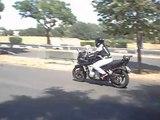 Apprentissage moto
