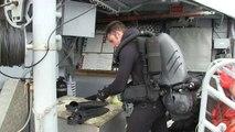 Le chasseur de mines Céphée sécurise le goulet de Brest