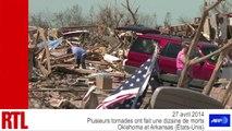 VIDÉO - Des tornades ravagent les États de l'Oklahoma et de l'Arkansas aux États-Unis