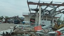 Scenes from deadly tornadoes in Miss., Ark., and Okla.